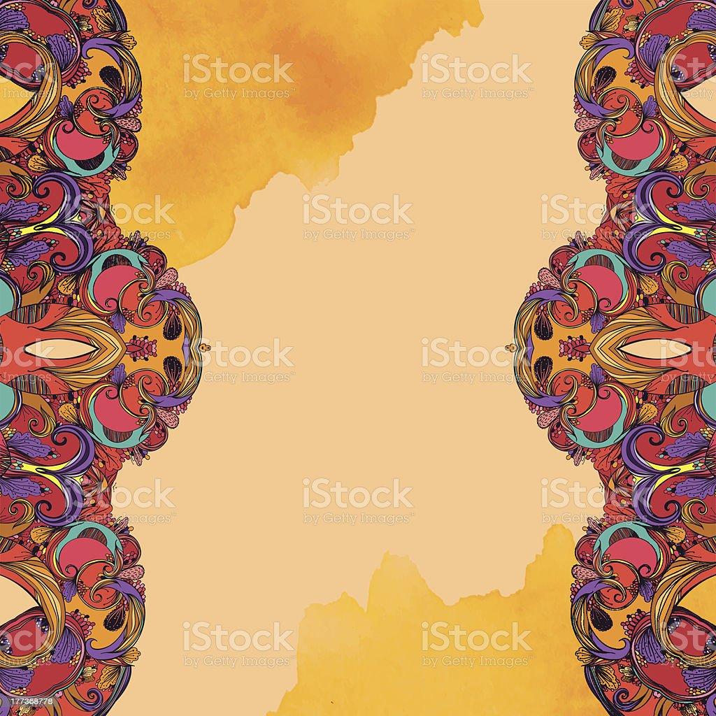 Autumn fairy royalty-free stock vector art