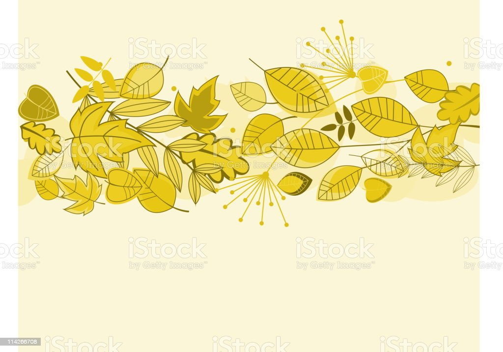Autumn fall background royalty-free stock vector art