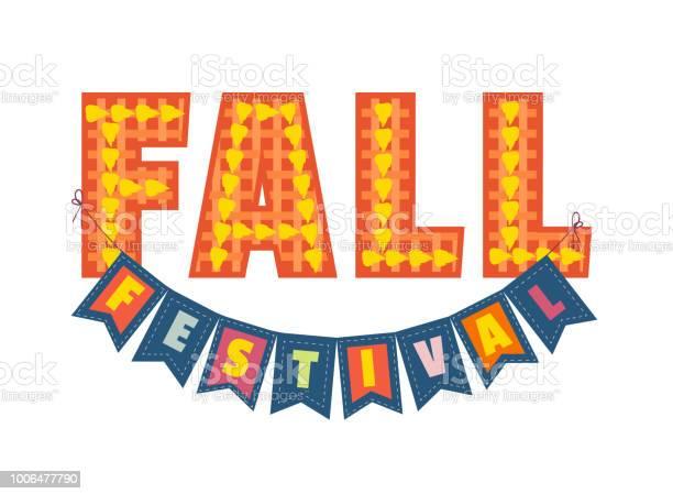 Autumn Fall Festival Stockvectorkunst en meer beelden van Advertentie