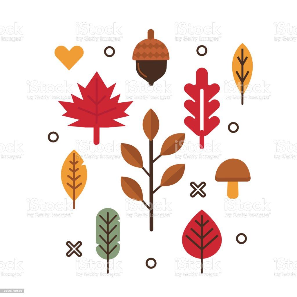 autumn festival vector art illustration