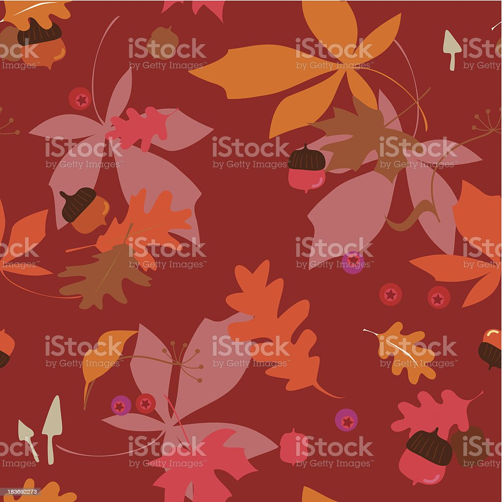 Autumn floral background royalty-free autumn floral background stock vector art & more images of acorn