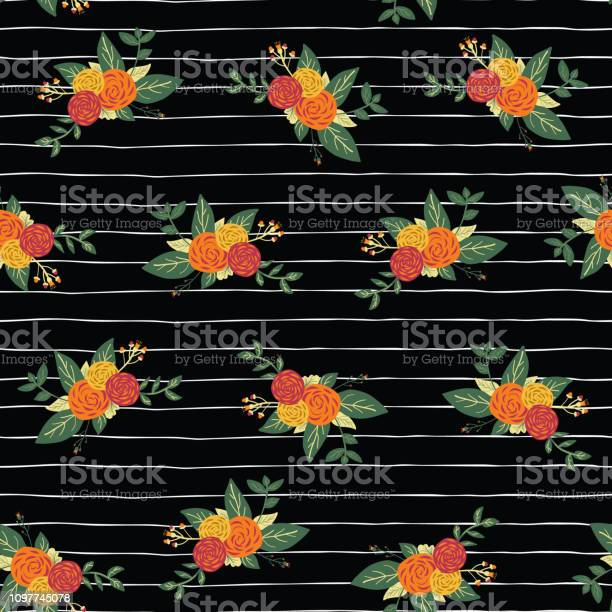Autumn flower bouquets on black and white stripes seamless vector vector id1097745078?b=1&k=6&m=1097745078&s=612x612&h=e pktgkhuxeot6sb1dhluqddyu3uw8kp2dng3cqffsy=