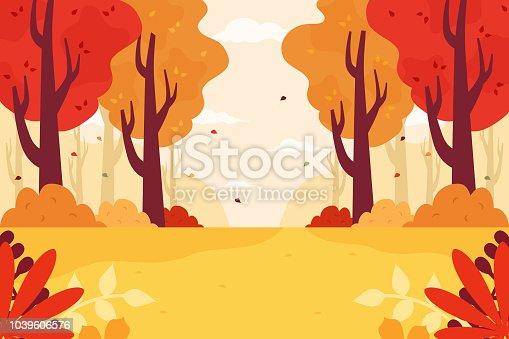 istock Autumn Forest 1039606576