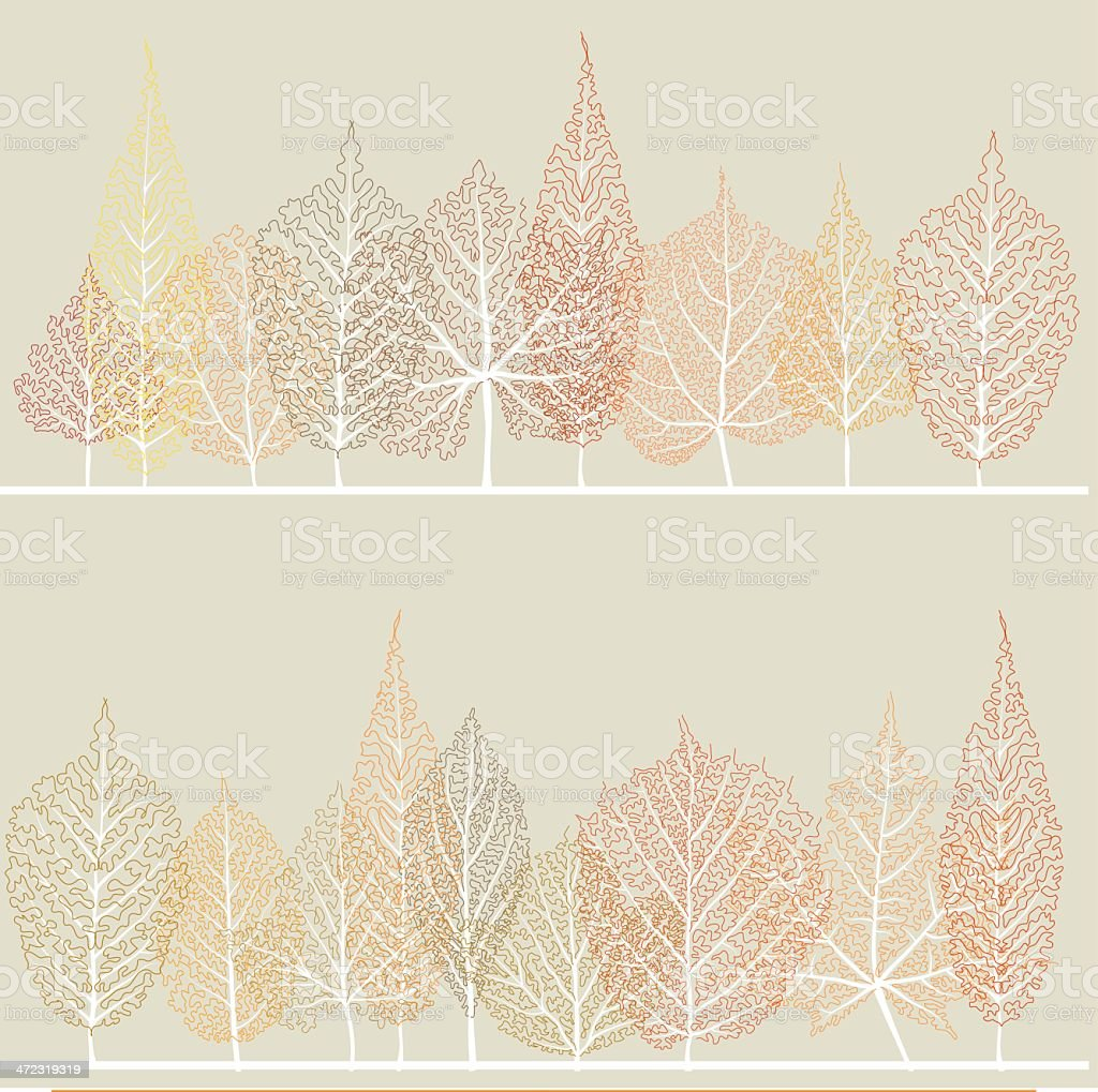 Autumn forest royalty-free autumn forest stock vector art & more images of autumn