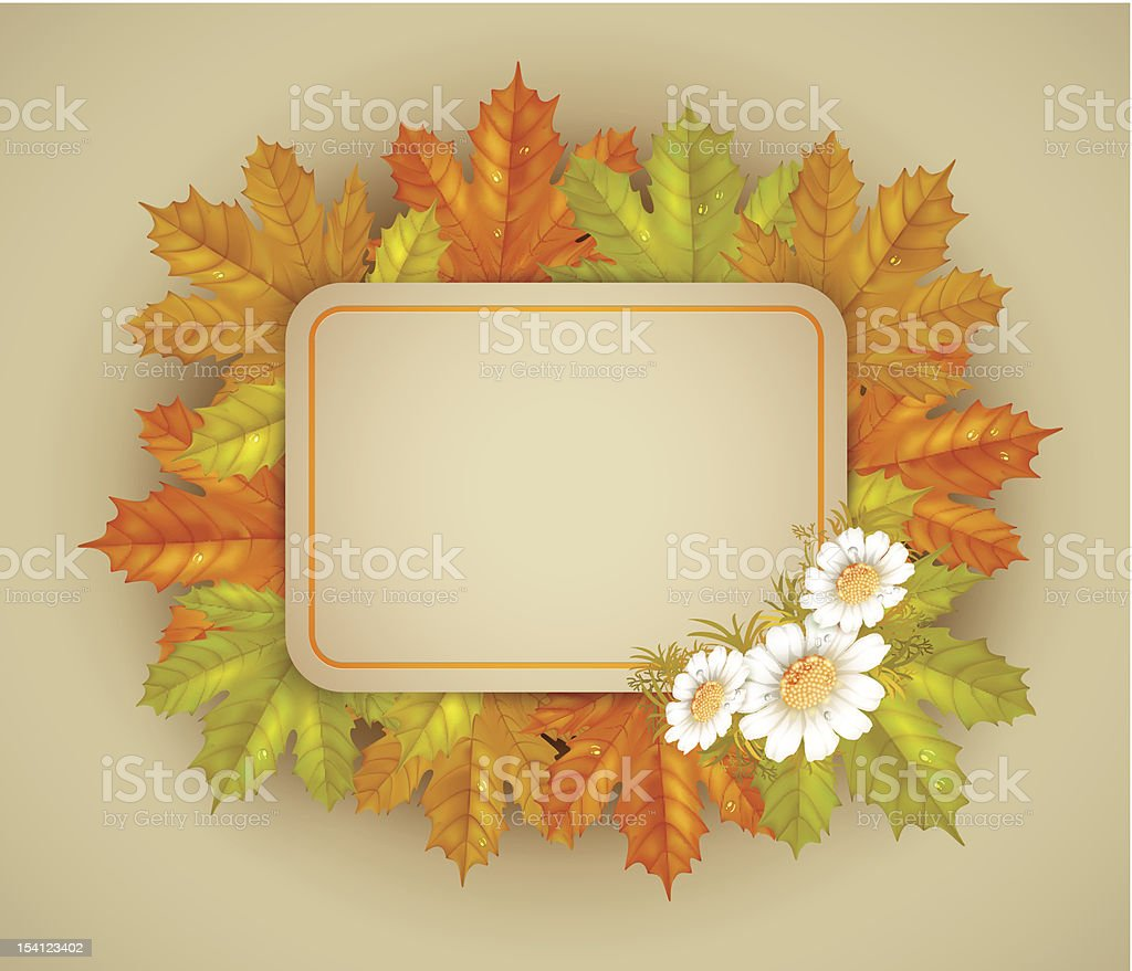 autumn frame royalty-free autumn frame stock vector art & more images of autumn