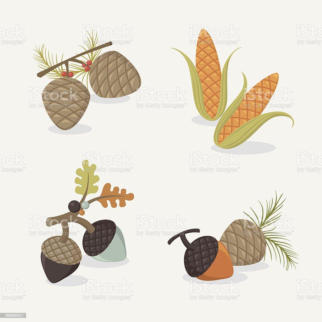 autumn goodies royalty-free autumn goodies stock vector art & more images of acorn