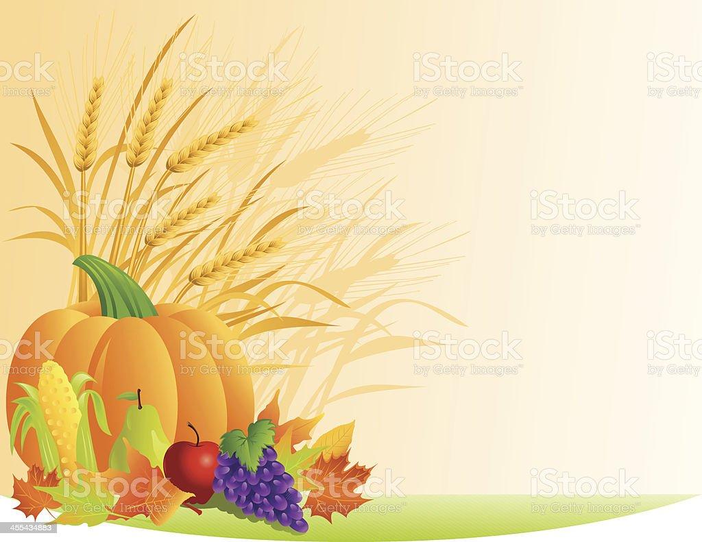 Autumn Harvest royalty-free stock vector art