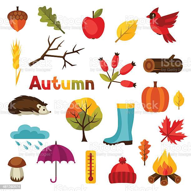 Autumn icon and objects set for design vector id481260574?b=1&k=6&m=481260574&s=612x612&h=si g8bmg3qulajd45agc7yhpb5x6z8pysktchyyg2p8=