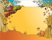 autumn landscape frame for your november inspirations