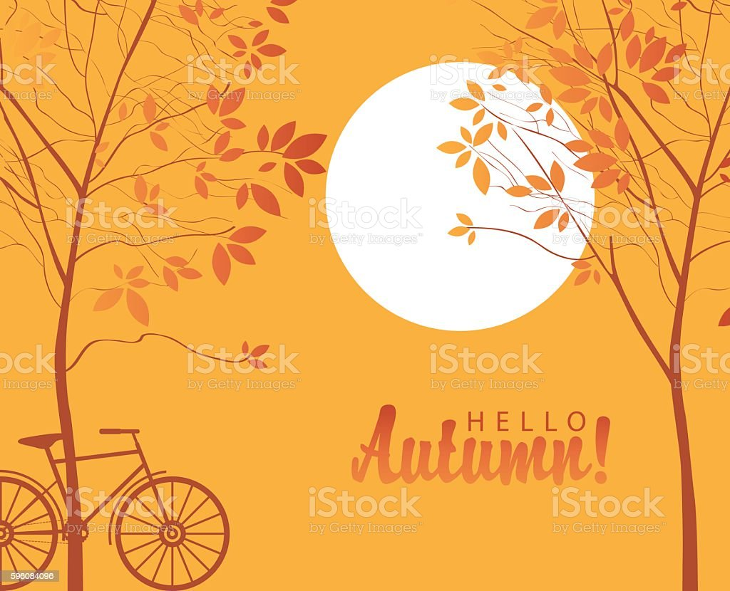 autumn landscape with trees in the park royalty-free autumn landscape with trees in the park stock vector art & more images of autumn