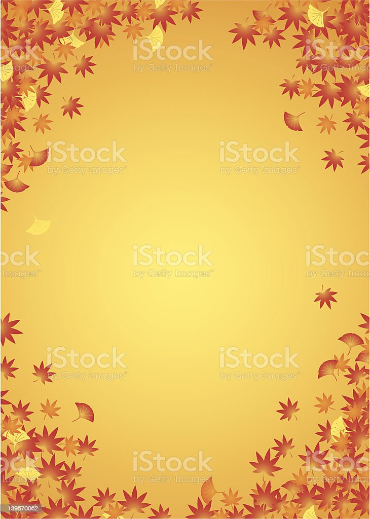 Autumn leaf background royalty-free autumn leaf background stock vector art & more images of autumn