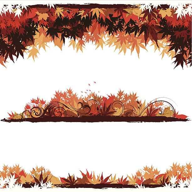 枯れ葉 イラスト素材 Istock