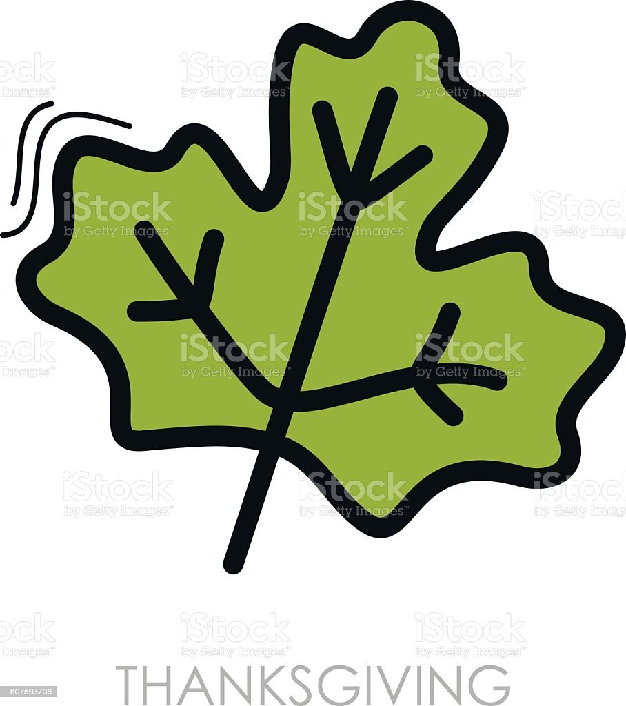 Autumn Leaves Maple Icon Stock Vector Art & More Images of Autumn ...