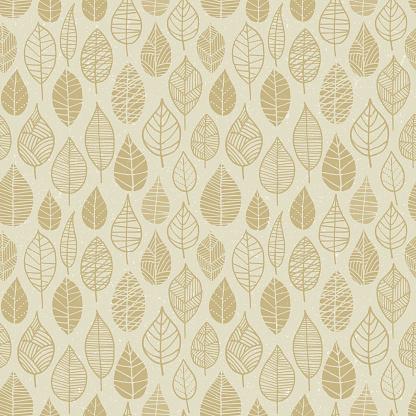 Autumn Leaves seamless pattern