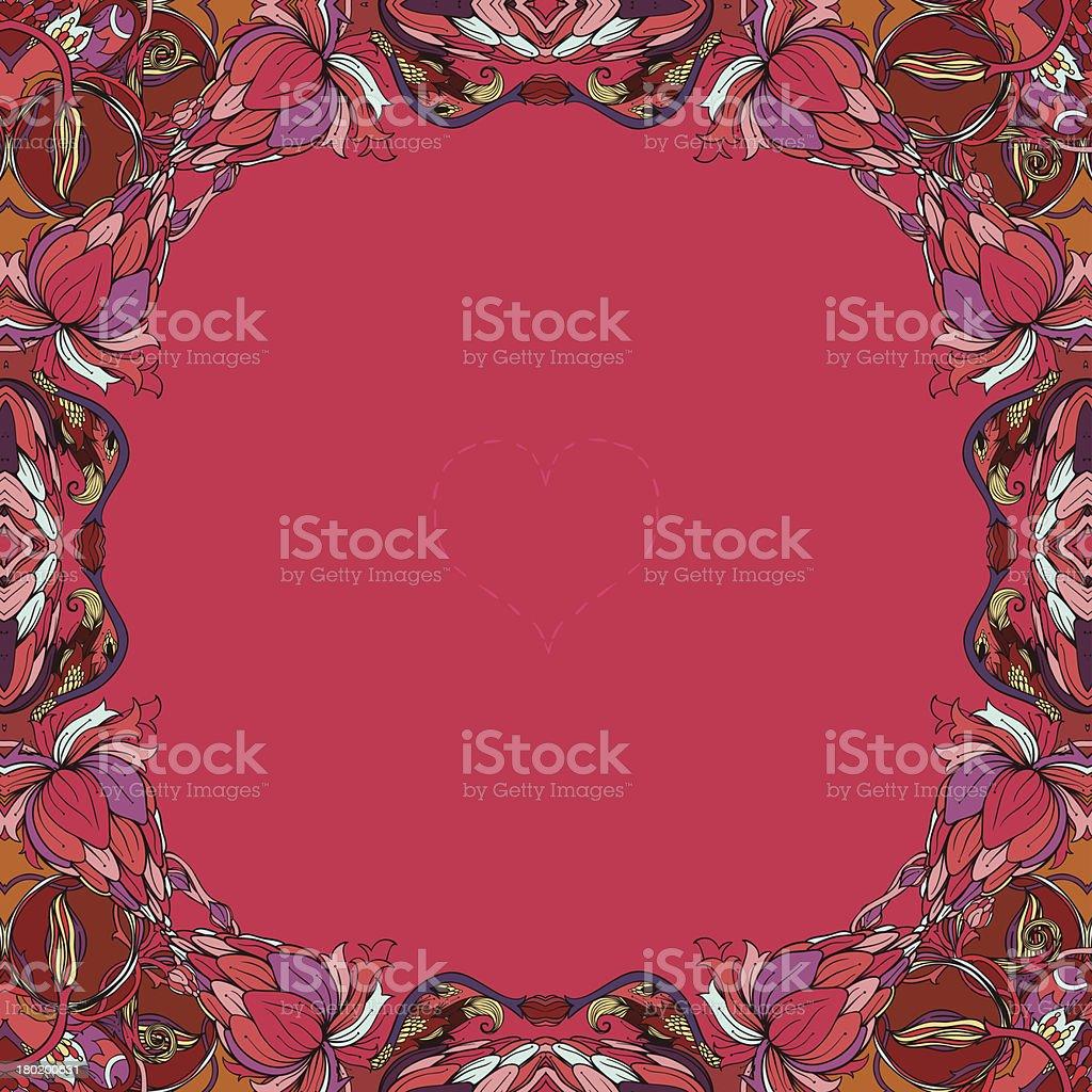 Autumn love royalty-free stock vector art