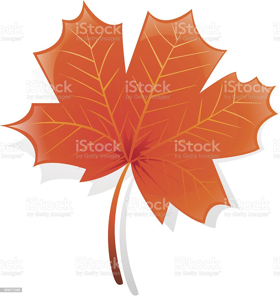 Autumn maple leaf royalty-free autumn maple leaf stock vector art & more images of autumn