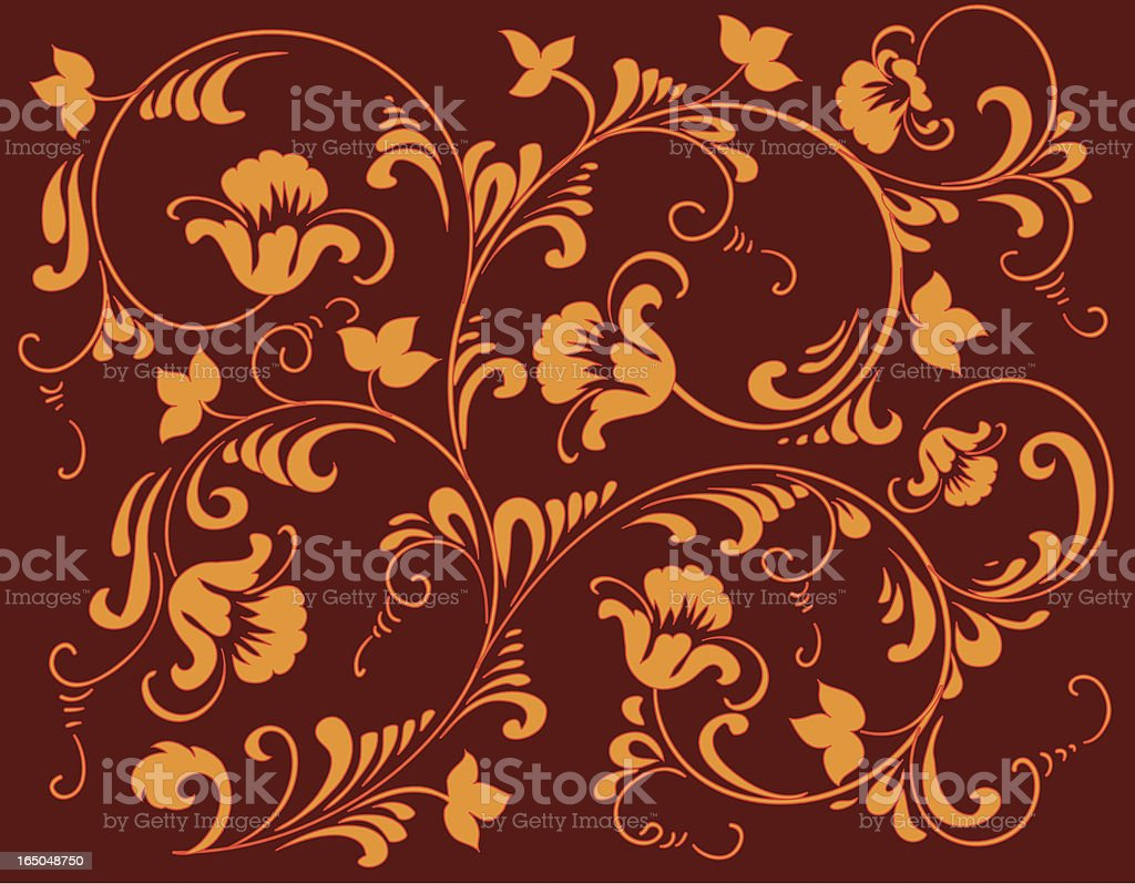 Autumn ornament royalty-free stock vector art