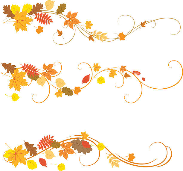Autumn ornaments illustrated on a white background file_thumbview_approve.php?size=1&id=26011669 autumn symbols stock illustrations
