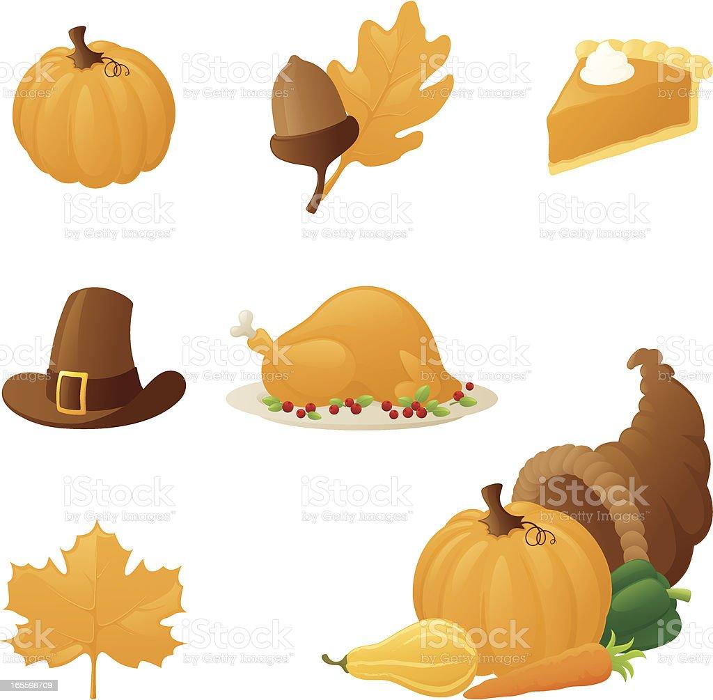Autumn Paraphernalia - incl. jpeg royalty-free stock vector art