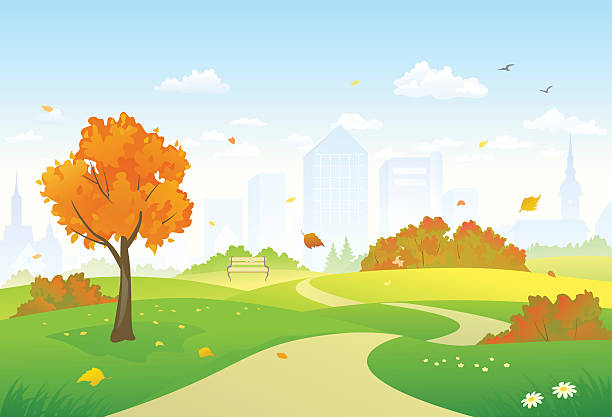 Best Public Park Illustrations, Royalty-Free Vector ...