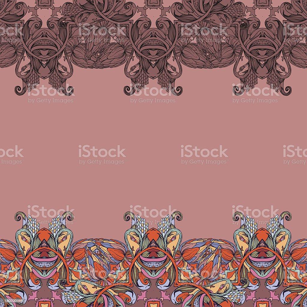 Autumn path royalty-free stock vector art