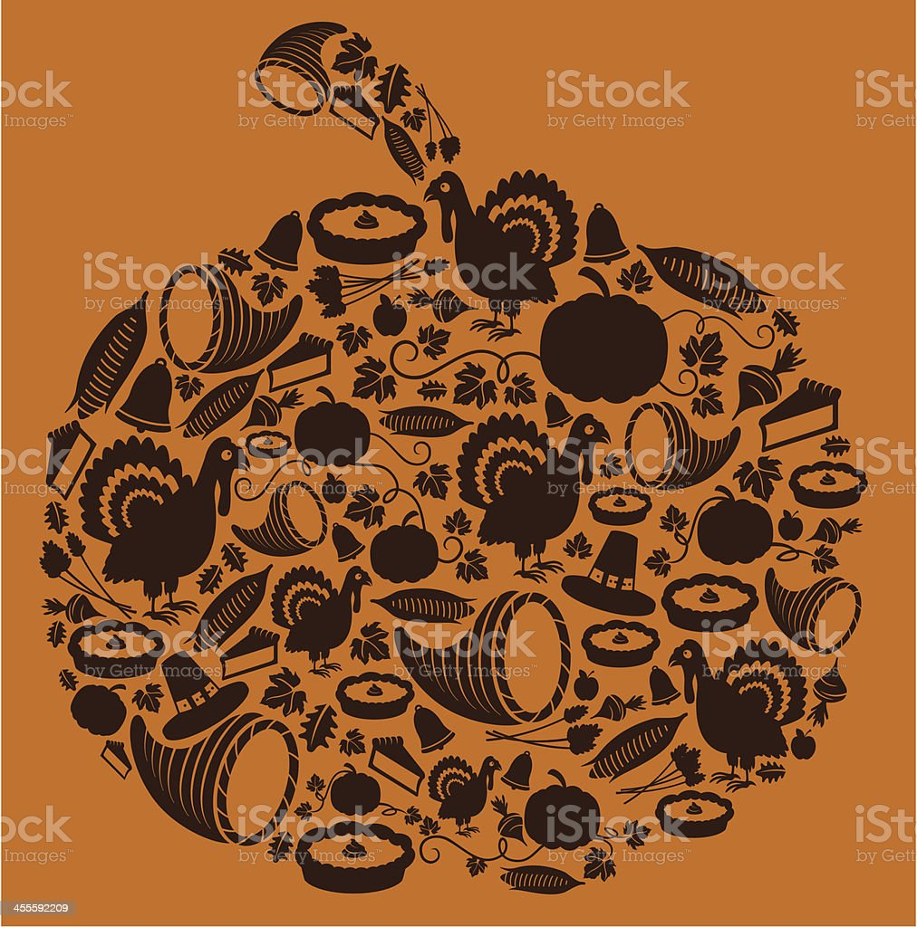 Autumn Pumpkin royalty-free stock vector art