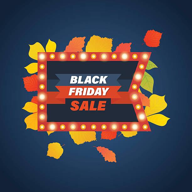 ilustraciones, imágenes clip art, dibujos animados e iconos de stock de autumn sale, system of discounts for the purchase goods - black friday sale