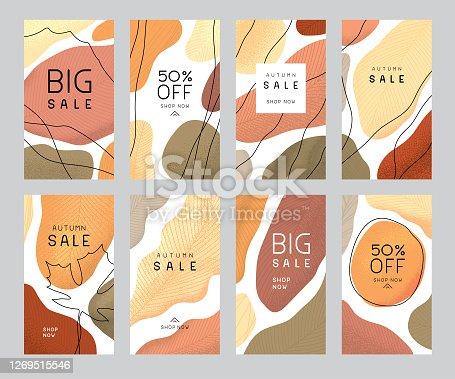 istock Autumn sale templates 1269515546
