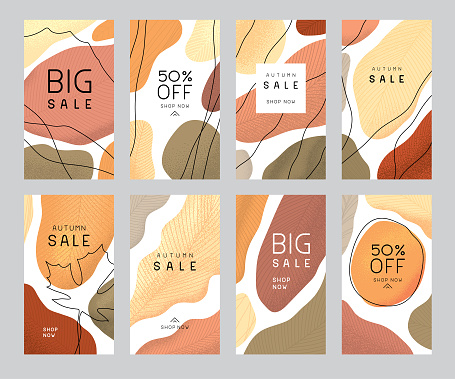 Autumn sale templates
