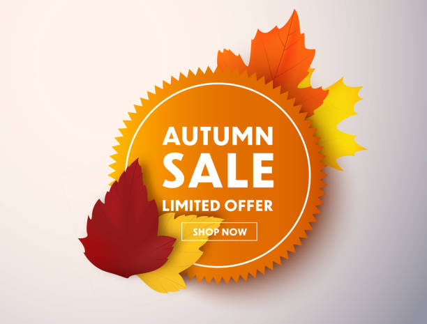 illustrations, cliparts, dessins animés et icônes de vente d'automne - chute