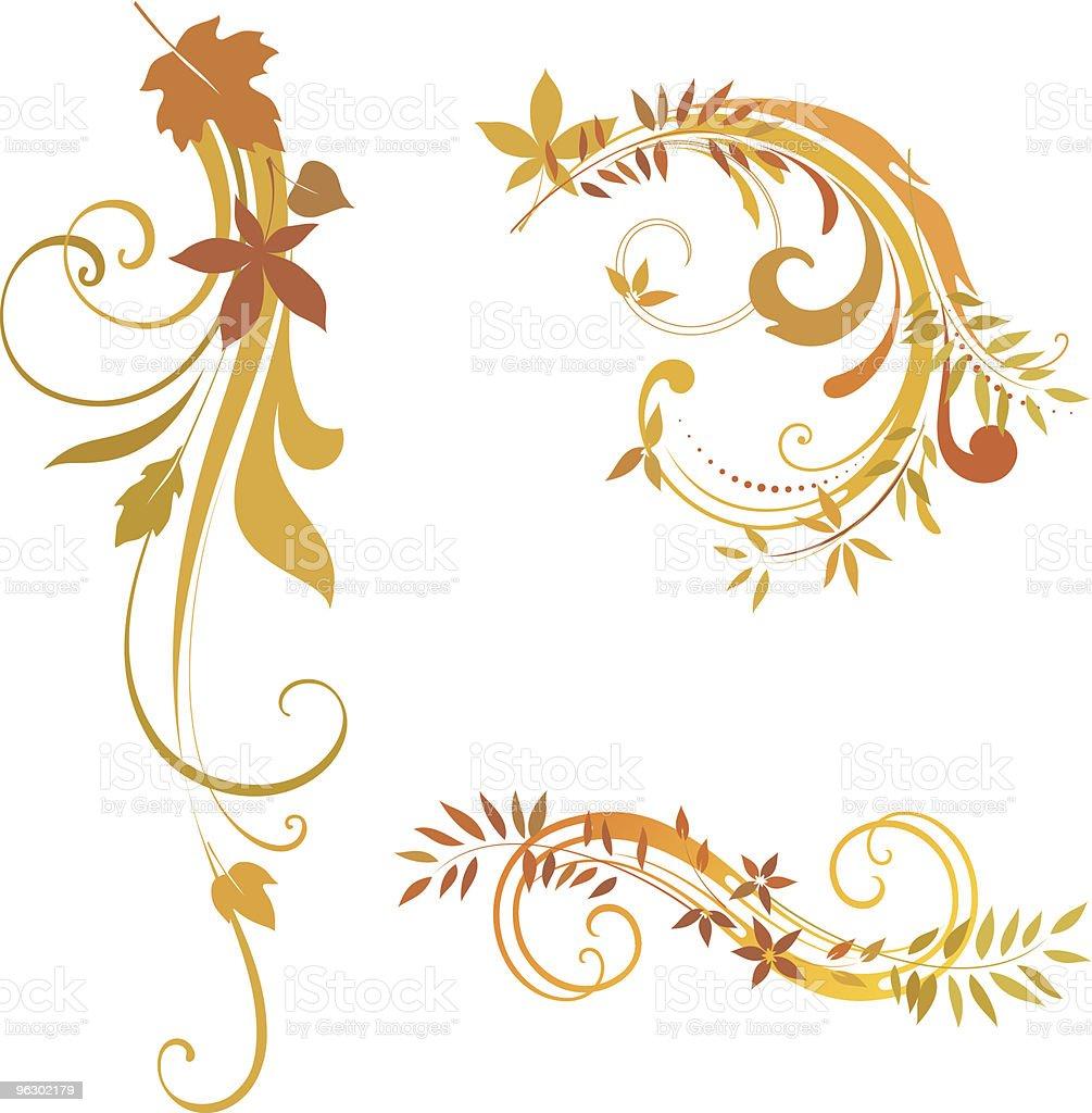 autumn scrolls royalty-free autumn scrolls stock vector art & more images of autumn