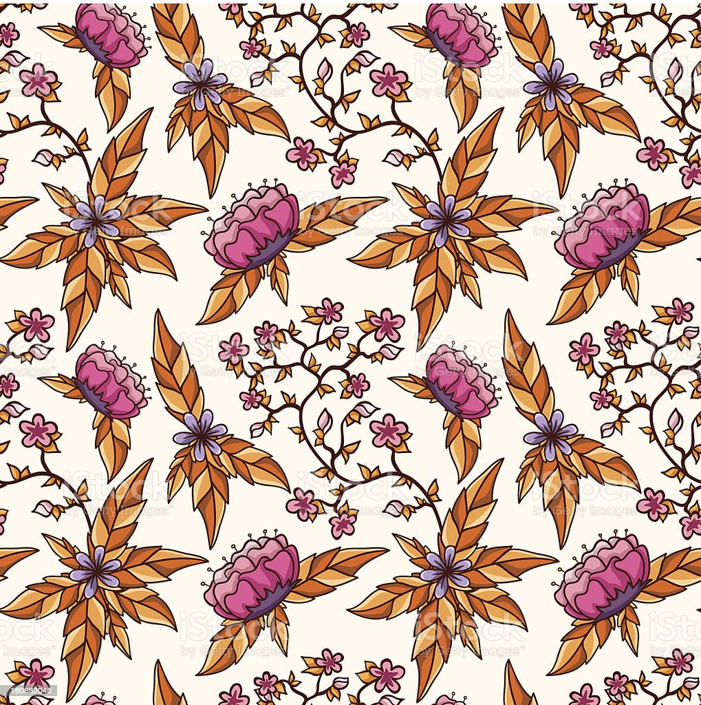Autumn seamless pattern. royalty-free autumn seamless pattern stock vector art & more images of art