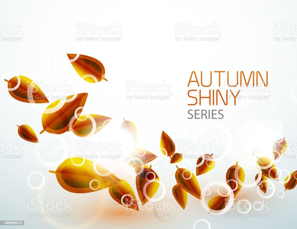 Vector nature seasonal abstract background