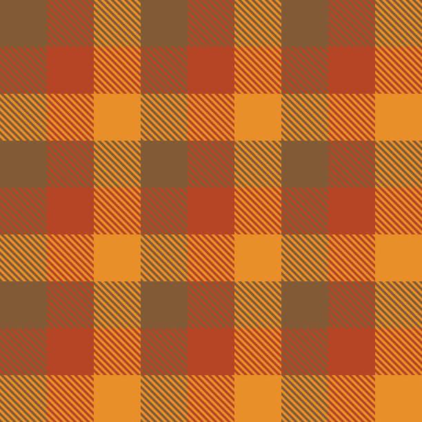 Autumn  Tartan Fall Seamless Pattern Plaid. Tartan Fall Seamless Pattern Plaid. Autumn color panel Plaid, Tartan Flannel Shirt Patterns. Trendy Tiles Vector Illustration for Wallpapers. fall background stock illustrations