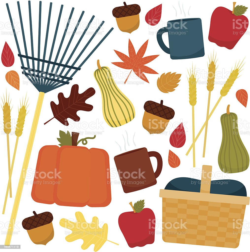Autumn Time royalty-free stock vector art