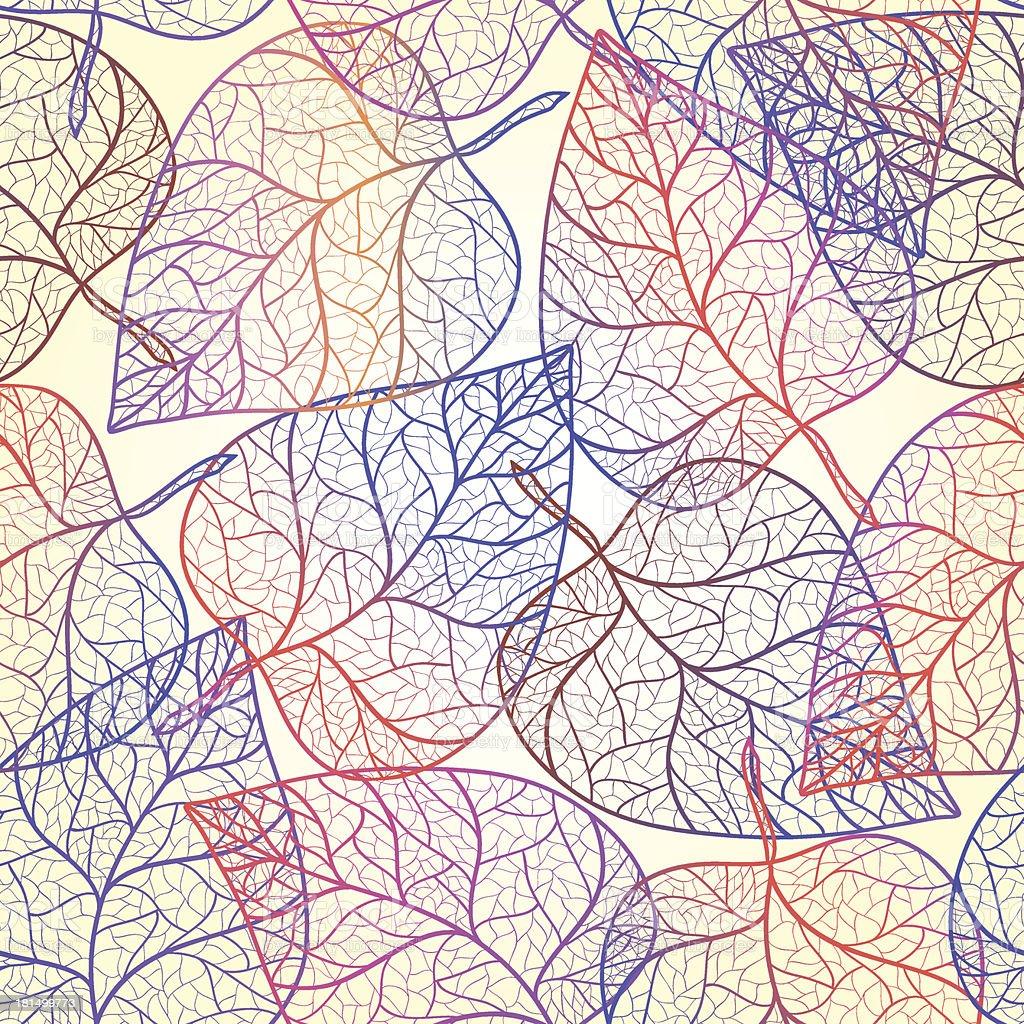 秋の葉模様の透明背景 のイラスト素材 181499773 | istock