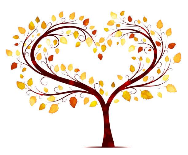 Best Heart Tree Illustrations, Royalty-Free Vector ...