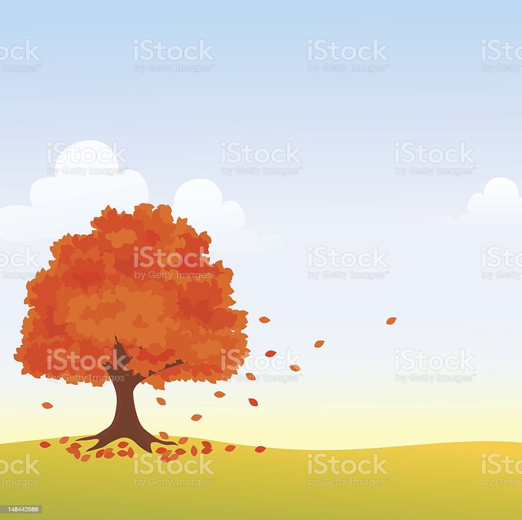 Autumn tree royalty-free autumn tree stock vector art & more images of autumn