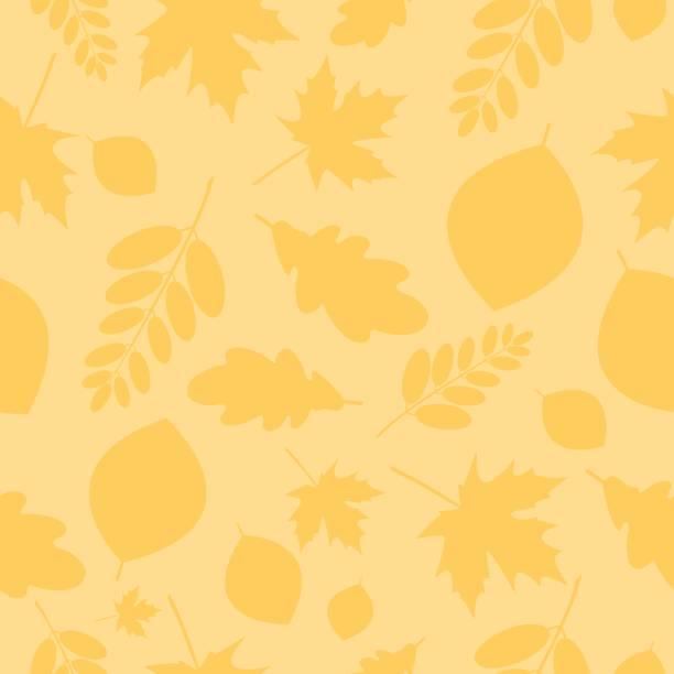 秋天 - 葉狀花紋 幅插畫檔、美工圖案、卡通及圖標