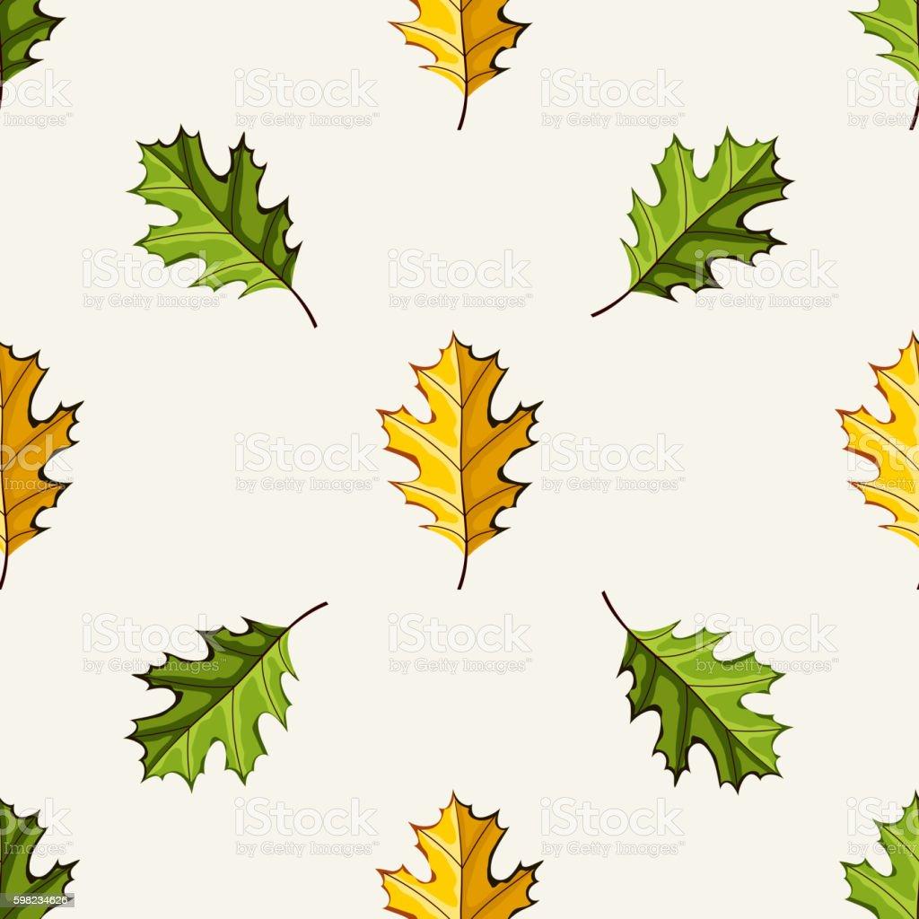 Autumn vector seamless pattern. ilustração de autumn vector seamless pattern e mais banco de imagens de abstrato royalty-free