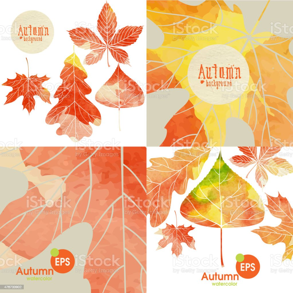 秋の背景設定 のイラスト素材 476733902 | istock