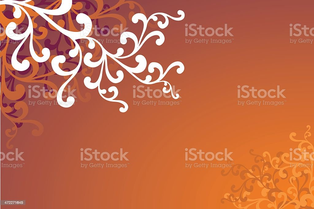Autumnal Branch vector royalty-free stock vector art