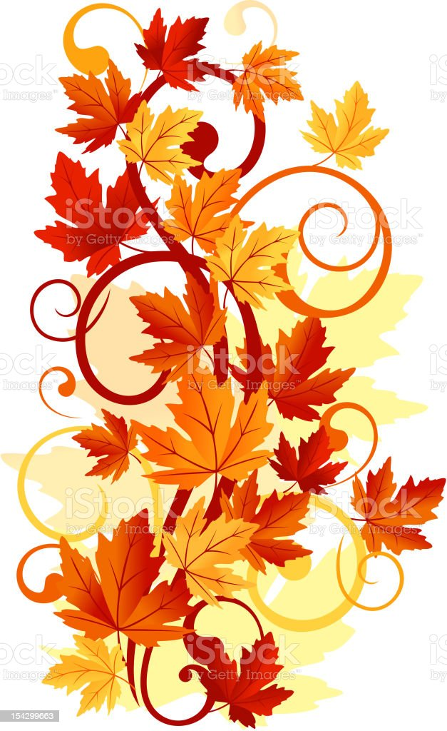 Autumnal leaves background royalty-free autumnal leaves background stock vector art & more images of abstract