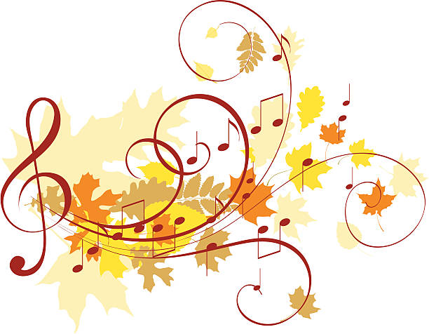 Best Fall Music Illustrations, Royalty-Free Vector ...