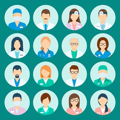 阿凡達醫院工作人員向量圖形及更多人圖片