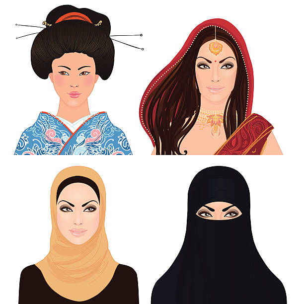 Best Hijab Girl Illustrations, Royalty-Free Vector Graphics  Clip Art - Istock-3476