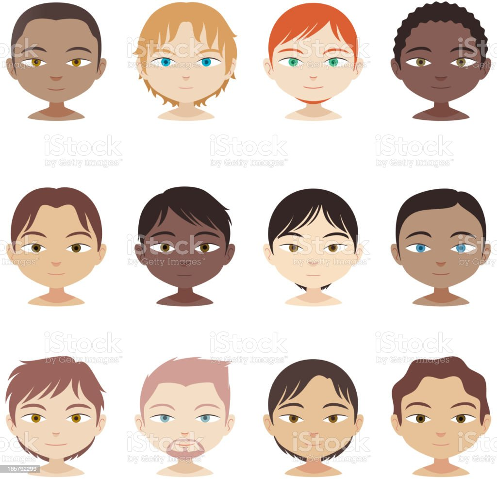Avatar Profile Avatars head and shoulders multi-ethnic people royalty-free avatar profile avatars head and shoulders multiethnic people stock vector art & more images of adult