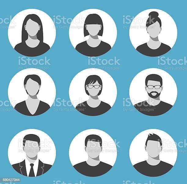 Avatar profile icon set including male and female vector id530427344?b=1&k=6&m=530427344&s=612x612&h=5njxbw7v4lbq0v3j4upjrf3ifxe pj a1rhptkls0p4=