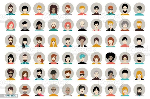 Avatar woman man heads people vector shape heads different vector id1132331708?b=1&k=6&m=1132331708&s=612x612&h=ezjh9jx zpydzlig4plydycuvbcuarqmir0vyplwh4a=
