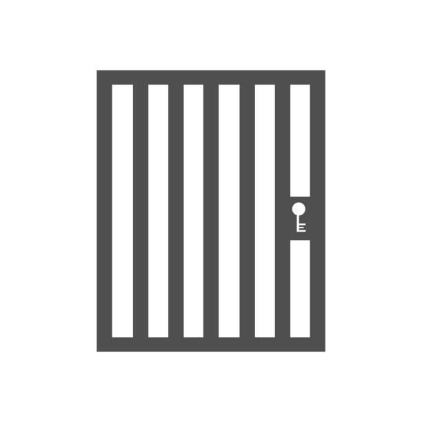 illustrations, cliparts, dessins animés et icônes de porte de cage volière - prison
